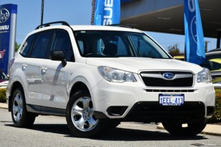 2012 Subaru Forester S4 MY13 2.0D AWD Satin White Pearl 6 Speed Manual Wagon.