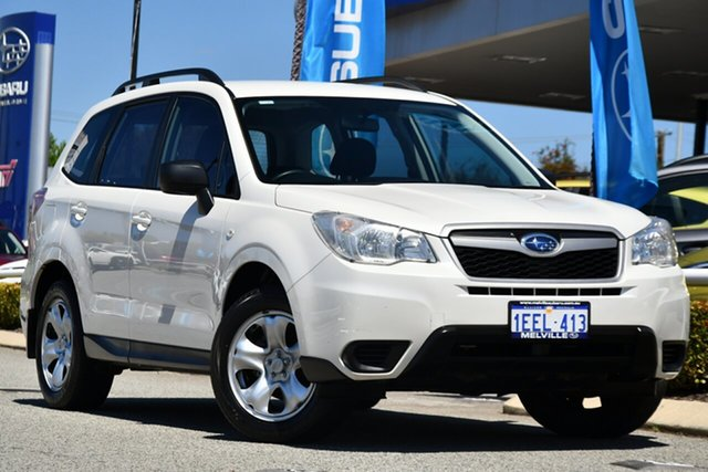 Used Subaru Forester S4 MY13 2.0D AWD Melville, 2012 Subaru Forester S4 MY13 2.0D AWD Satin White Pearl 6 Speed Manual Wagon