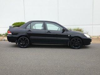 2006 Mitsubishi Lancer CH MY07 ES Black 5 Speed Manual Sedan.