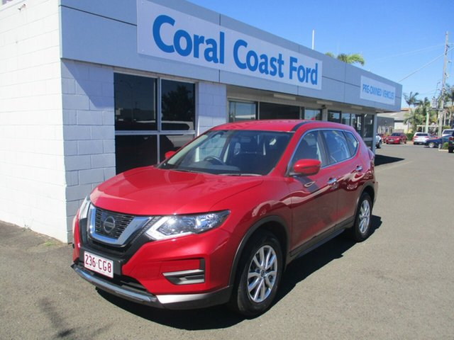 Used Nissan X-Trail T32 Series 2 ST (4WD) (5Yr) Bundaberg, 2019 Nissan X-Trail T32 Series 2 ST (4WD) (5Yr) Red Continuous Variable Wagon