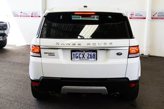 2016 Land Rover Range Rover LW MY16 Sport 3.0 SDV6 HSE White 8 Speed Automatic Wagon