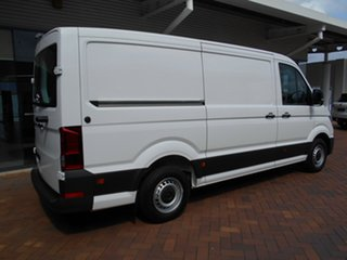 2021 Volkswagen Crafter SY1 MY21 35 MWB FWD TDI340 Candy White 8 Speed Automatic Van.