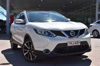 2017 Nissan Qashqai J11 TI Ivory Pearl 1 Speed Constant Variable Wagon.