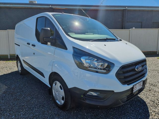 Used Ford Transit Custom VN 2018.75MY 300S (Low Roof) Toowoomba, 2018 Ford Transit Custom VN 2018.75MY 300S (Low Roof) White 6 Speed Automatic Van