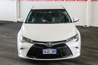 2016 Toyota Camry ASV50R MY16 Atara SX Diamond White 6 Speed Automatic Sedan.