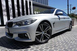 2015 BMW 4 Series F36 435i Glacier Silver 8 Speed Sports Automatic Hatchback