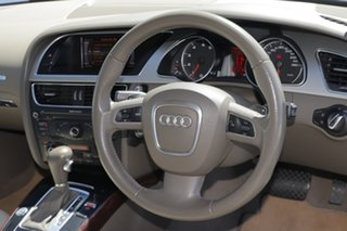 2010 Audi A5 8T MY10 S Tronic Quattro Brown 7 Speed Sports Automatic Dual Clutch Cabriolet