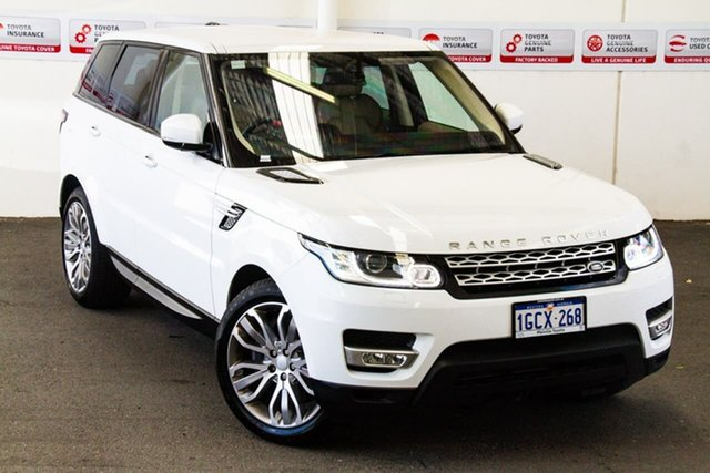 Pre-Owned Land Rover Range Rover LW MY16 Sport 3.0 SDV6 HSE Myaree, 2016 Land Rover Range Rover LW MY16 Sport 3.0 SDV6 HSE White 8 Speed Automatic Wagon