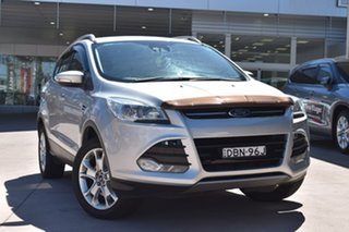 2015 Ford Kuga TF MY15 Trend AWD Silver 6 Speed Sports Automatic Wagon.