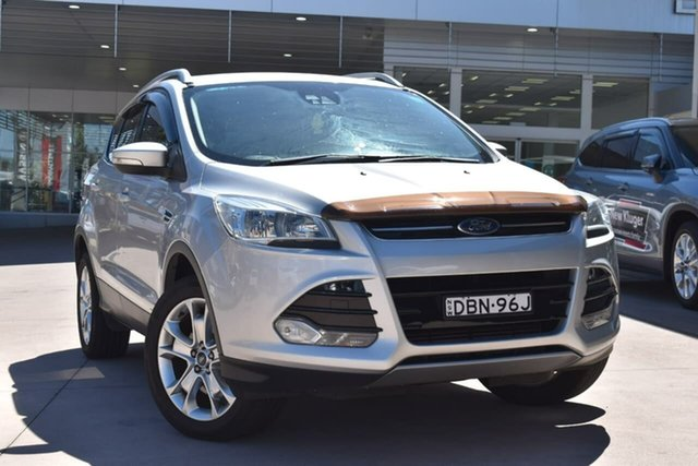 Used Ford Kuga TF MY15 Trend AWD Blacktown, 2015 Ford Kuga TF MY15 Trend AWD Silver 6 Speed Sports Automatic Wagon