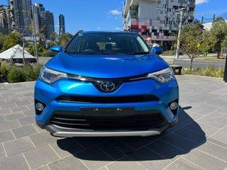 2018 Toyota RAV4 ZSA42R GX 2WD Blue 7 Speed Constant Variable Wagon.
