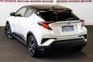 2018 Toyota C-HR NGX50R Update Koba (AWD) Crystal Pearl & Black Roof Continuous Variable Wagon.