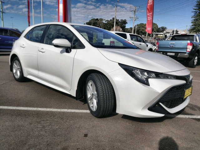 Pre-Owned Toyota Corolla Mzea12R Ascent Sport Cardiff, 2019 Toyota Corolla Mzea12R Ascent Sport White 10 Speed Constant Variable Hatchback