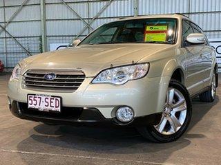 2008 Subaru Outback B4A MY08 Premium Pack D/Range AWD Gold 5 Speed Manual Wagon.