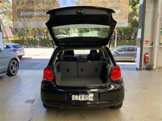 2014 Volkswagen Polo 6R 66TDI Comfortline Black Sports Automatic Dual Clutch Hatchback