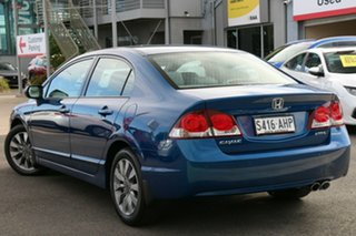2010 Honda Civic 8th Gen MY10 VTi-L Dyno Blue 5 Speed Automatic Sedan.