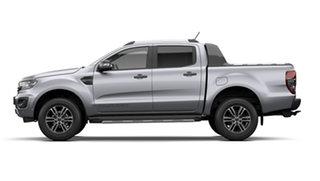 2021 Ford Ranger PX MkIII 2021.75MY Wildtrak Aluminium Silver 10 Speed Sports Automatic