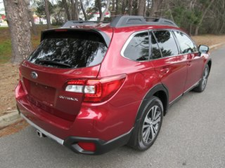 2018 Subaru Outback B6A MY18 2.5i CVT AWD Premium Red 7 Speed Constant Variable Wagon.