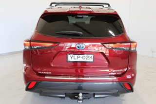2021 Toyota Kluger Axuh78R Grande eFour Red 6 Speed Constant Variable Wagon Hybrid