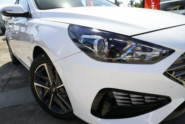New Hyundai i30 PD.V4 MY22 Active Berri, 2021 Hyundai i30 PD.V4 MY22 Active Polar White 6 Speed Sports Automatic Hatchback