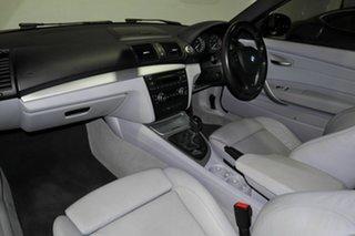 2009 BMW 1 Series E82 135i Sport White 6 Speed Manual Coupe
