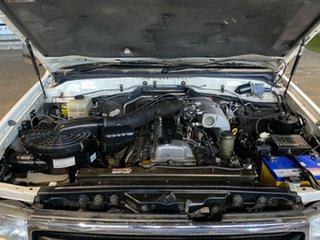 2001 Toyota Landcruiser FZJ105R GXL White 4 Speed Automatic Wagon