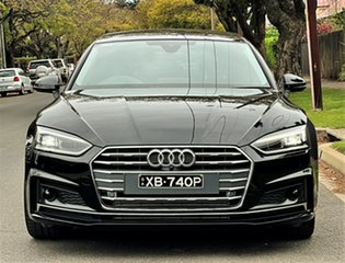 2019 Audi A5 F5 MY19 40 TFSI Sportback S Tronic Sport Black 7 Speed Sports Automatic Dual Clutch.
