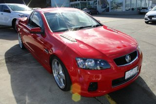2011 Holden Ute VE II SS Red 6 Speed Sports Automatic Utility.