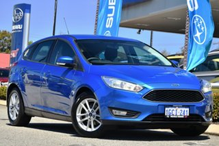 2016 Ford Focus LZ Trend Blue 6 Speed Automatic Hatchback.