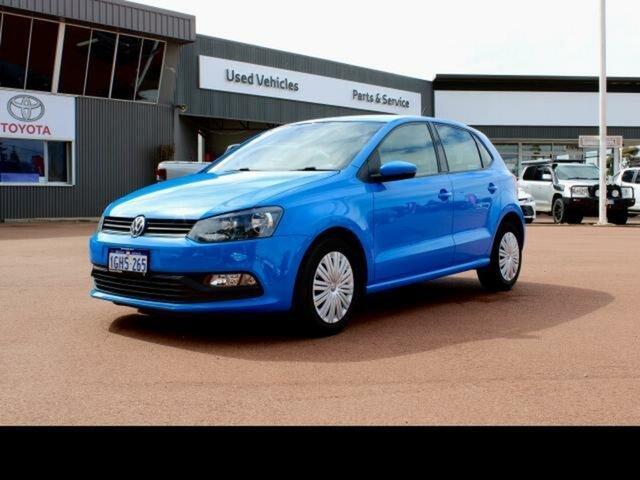Used Volkswagen Polo 6R MY17 66 TSI Trendline Esperance, 2017 Volkswagen Polo 6R MY17 66 TSI Trendline Blue 5 Speed Manual Hatchback