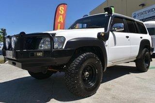 2010 Nissan Patrol GU VI DX (4x4) White 5 Speed Manual Wagon