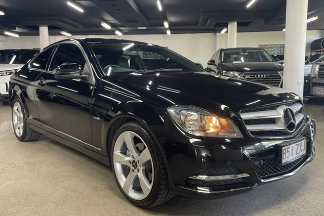 Used Mercedes-Benz C-Class C204 C250 BlueEFFICIENCY 7G-Tronic + Albion, 2011 Mercedes-Benz C-Class C204 C250 BlueEFFICIENCY 7G-Tronic + Black 7 Speed Sports Automatic Coupe