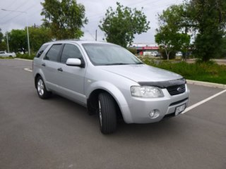 2005 Ford Territory SX TS Silver Sports Automatic Wagon.