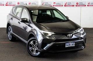 2016 Toyota RAV4 ZSA42R MY17 GX (2WD) Graphite Continuous Variable Wagon.