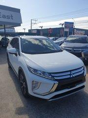 2019 Mitsubishi Eclipse Cross YA MY20 LS 2WD White 8 Speed Constant Variable Wagon.