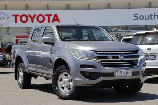 Pre-Owned Holden Colorado RG MY17 LS Pickup Crew Cab Upper Mount Gravatt, 2016 Holden Colorado RG MY17 LS Pickup Crew Cab Grey 6 Speed Sports Automatic Utility