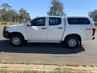 2019 Isuzu D-MAX TF MY19 SX (4x4) White 6 Speed Automatic Cab Chassis