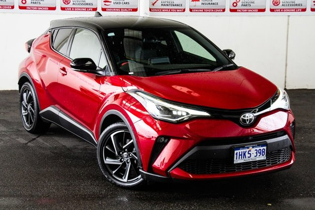 Pre-Owned Toyota C-HR NGX50R Koba S-CVT AWD Myaree, 2020 Toyota C-HR NGX50R Koba S-CVT AWD Feverish Red & Black Roof 7 Speed Constant Variable Wagon