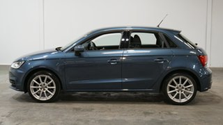 2016 Audi A1 8X MY17 Sportback S Tronic Blue 7 Speed Sports Automatic Dual Clutch Hatchback