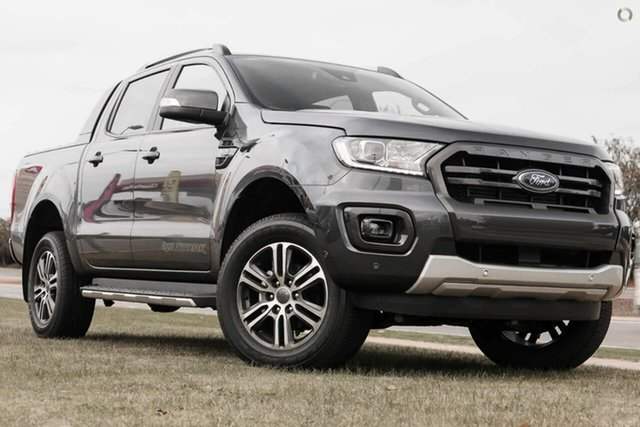 New Ford Ranger PX MkIII 2021.75MY Wildtrak Oakleigh, 2021 Ford Ranger PX MkIII 2021.75MY Wildtrak Grey 6 Speed Sports Automatic Double Cab Pick Up