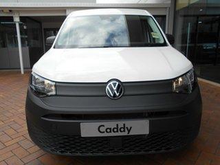 2021 Volkswagen Caddy SKN MY21 TDI280 Cargo SWB Candy White 6 Speed Manual Van