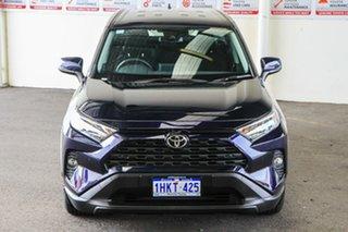 2021 Toyota RAV4 Mxaa52R GX 2WD Saturn Blue 10 Speed Constant Variable Wagon.