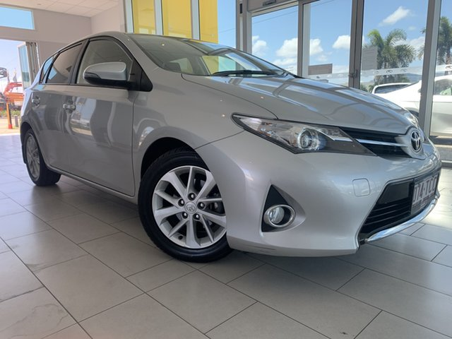 Used Toyota Corolla ZRE182R Ascent Sport S-CVT Garbutt, 2013 Toyota Corolla ZRE182R Ascent Sport S-CVT Silver 7 Speed Constant Variable Hatchback