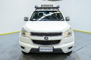 2013 Holden Colorado RG MY13 LTZ Crew Cab White 5 Speed Manual Utility.