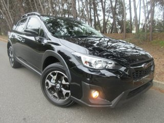 2018 Subaru XV G5X MY18 2.0i-L Lineartronic AWD Black 7 Speed Constant Variable Wagon.