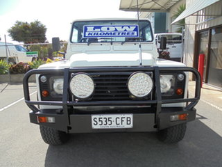 2006 Land Rover Defender 130 03MY Standard White 5 Speed Manual Utility.