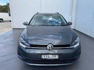 2019 Volkswagen Golf 7.5 MY19.5 110TSI DSG Trendline Grey 7 Speed Sports Automatic Dual Clutch Wagon.
