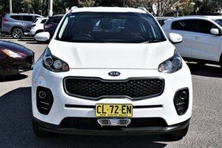 2017 Kia Sportage QL MY17 Si AWD White 6 Speed Sports Automatic Wagon.