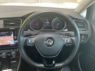 2017 Volkswagen Golf 7.5 MY17 110TDI DSG Highline Pure White 7 Speed Sports Automatic Dual Clutch