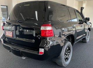 2017 Toyota Landcruiser VDJ200R GX Black 6 Speed Sports Automatic Wagon.